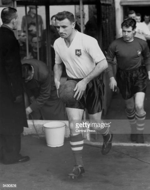 Scotland and Preston North End footballer Tommy Docherty