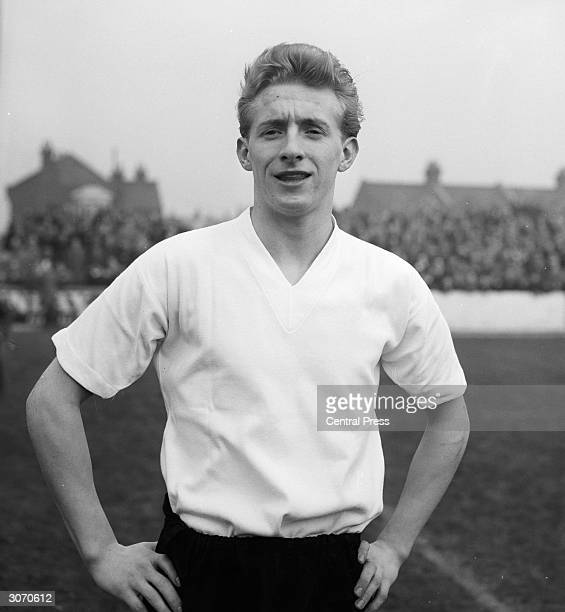 Huddersfield Town Football Club insideforward Denis Law