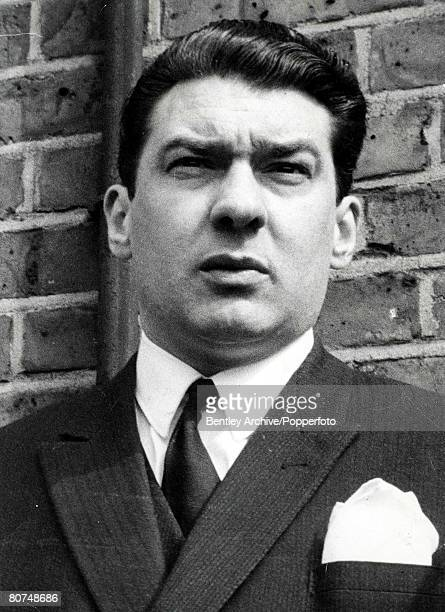 January 1969 A portrait of Ronald Kray aged 34 who with his twin brother Reginald and elder brother Charles figure in the case towards their...
