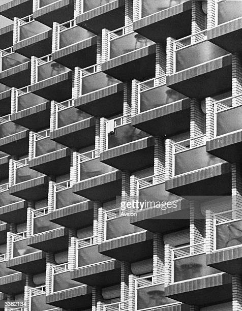 Hotel skyscrapers in the holiday resort of Benidorm