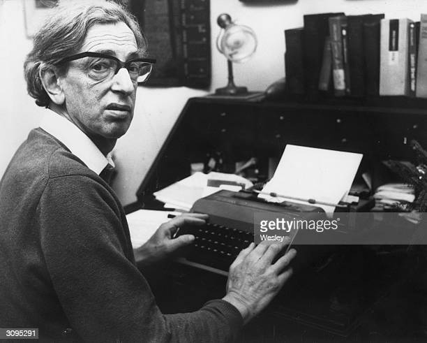 British historian Eric Hobsbawm author of 'The Age of Empire' 'The Age of Capital' and 'The Age of Revolution'