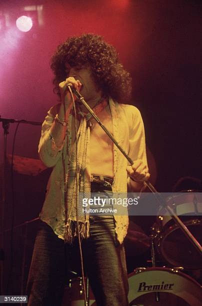 Scottish vocalist Dan McCafferty performing with the hard rock group Nazareth at the Great British Music Festival in Olympia London