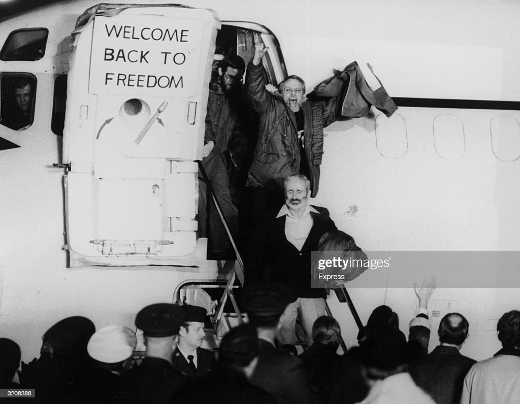 Free After 444 Days : News Photo