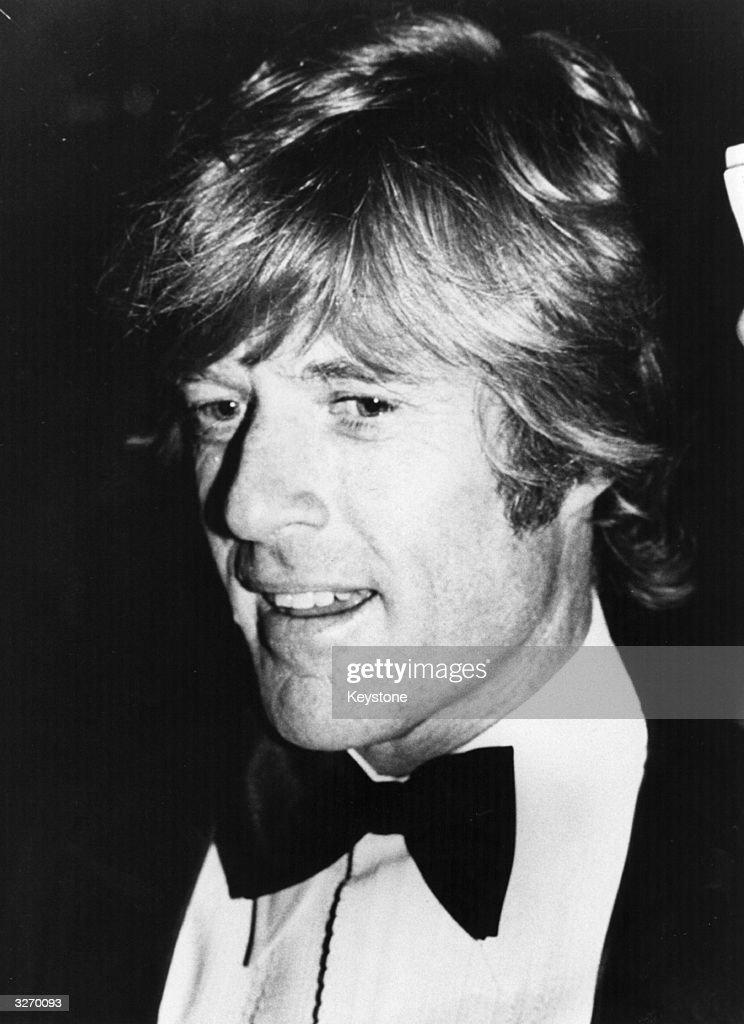 American film actor and director Robert (Charles) Redford (1937 -).