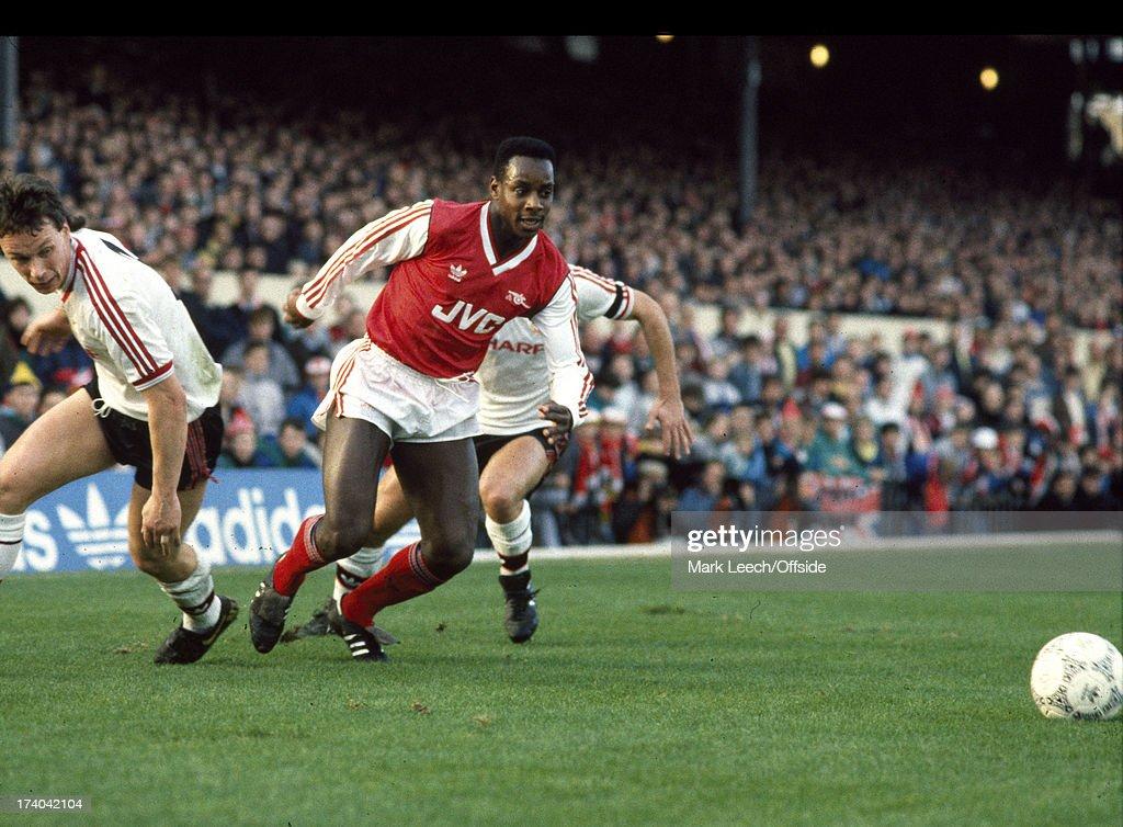 Footballer Michael Thomas : Nyhetsfoto