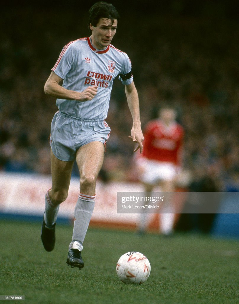 Liverpool FC Defender Alan Hansen 1988 : News Photo