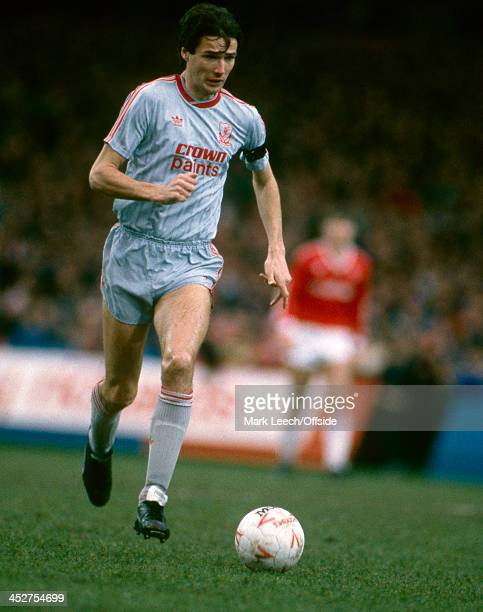 23 January 1988 Football League Division One Charlton Athletic v Liverpool Liverpool defender Alan Hansen