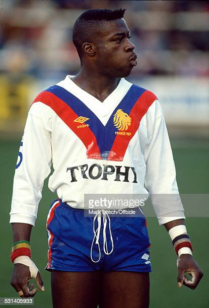 21 January 1989 Rugby League International GB v France GB winger Martin Offiah