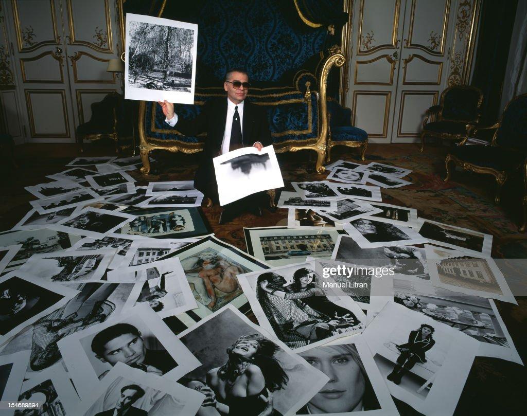 Karl Lagerfeld Photographer : News Photo