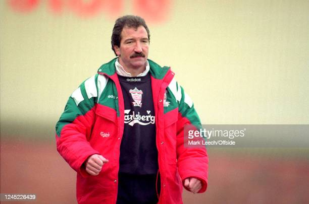 January 1993 - FA Cup - Bolton Wanderers v Liverpool - Liverpool manager Graeme Souness.