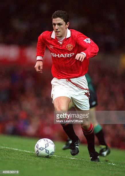 09 January 1993 FA Premiership Manchester United v Tottenham Hotspur Lee Sharpe
