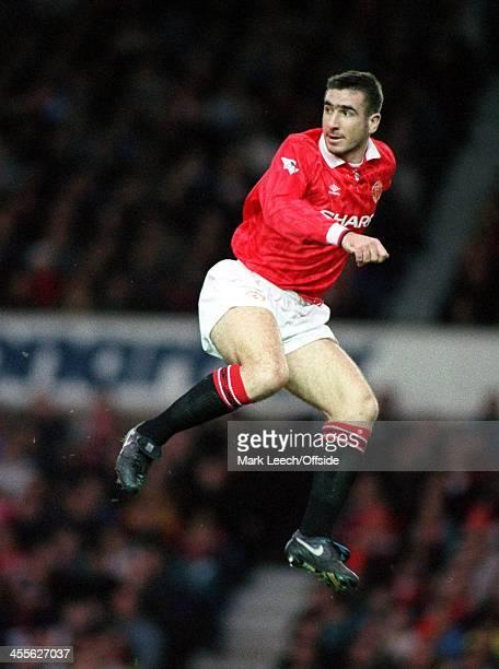 9 January 1993 FA Premiership Manchester United v Tottenham Hotspur Eric Cantona