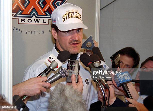 Bill Cowher of the Pittsburgh Steelers after Super Bowl XXX that the Dallas Cowboys won by the score Dallas 27 Pittsburgh 17 at Sun Devil Stadium in...
