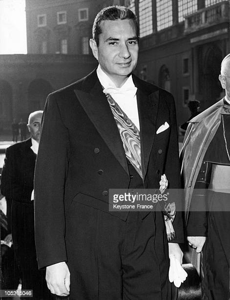 January 20 1964 Portrait Of Italian Prime Minister Aldo Moro During His Visit To Pope Paul Vi At The Vatican The First One Since His Accession To The...
