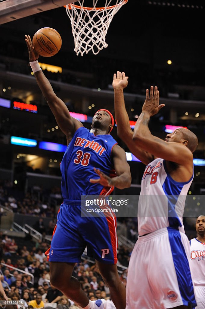 Basketball - NBA - Pistons vs. Clippers : News Photo