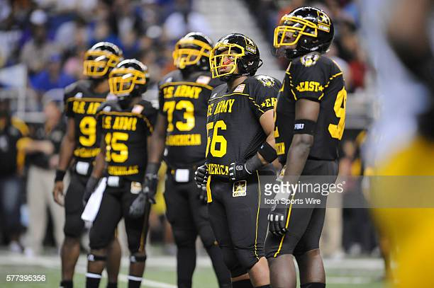 US Army AllAmerican Bowl East DE Donte Moss who has verbally committed to play college football next year at North Carolina US Army AllAmerican Bowl...
