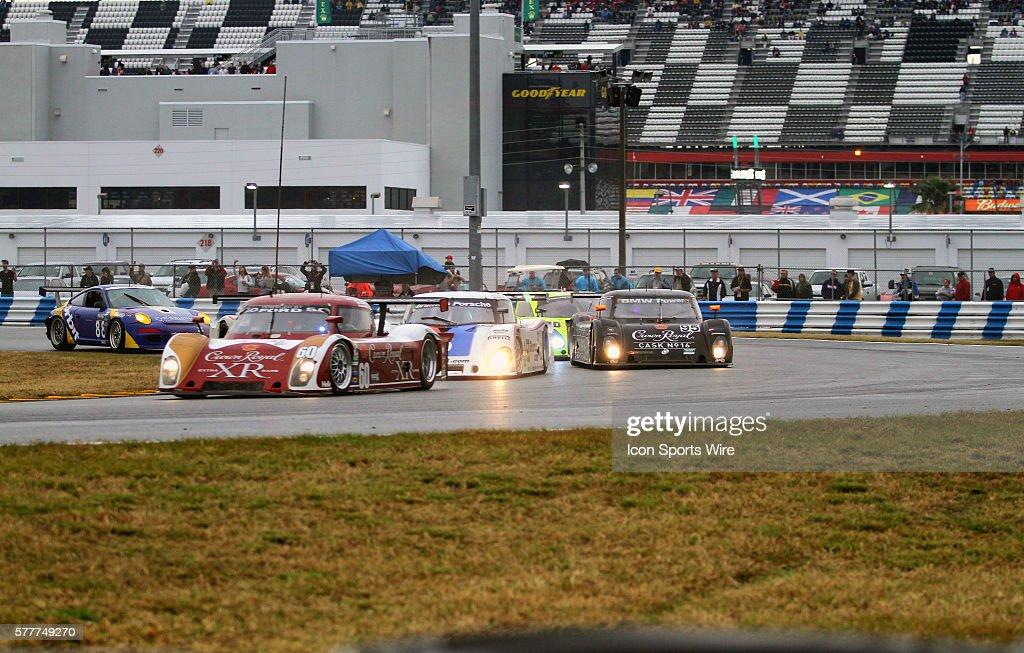 Grand Am Rolex Sports Car Series drivers Burt Frisselle, Ozz Negri ...
