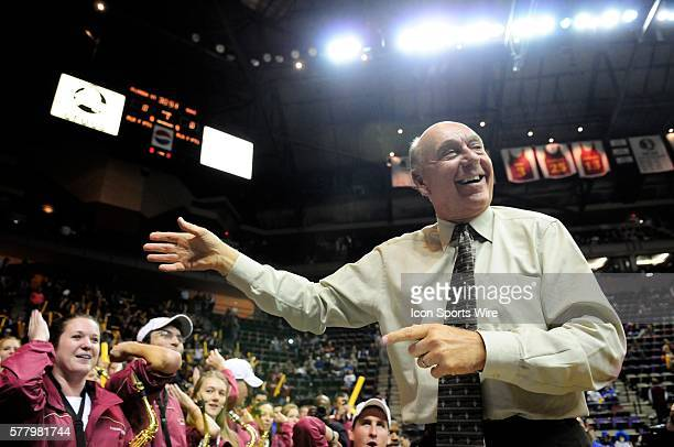 Dick Vitale conducts the Seminole Sound prior to the start of Florida State's home game against Duke on Wednesday January 12 2011 in the Leon County...