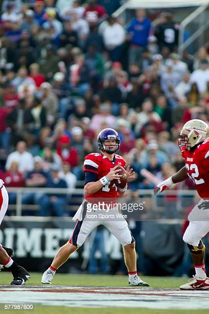 29 January 2011 Under Armour Senior Bowl TCU quarterback Andy Dalton drops back for a pass in the first half The South won the game 2410