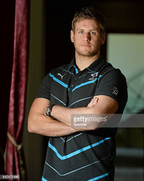 31 January 2014 Ireland's Chris Henry after a press conference ahead of their RBS Six Nations Rugby Championship match against Scotland on Sunday...