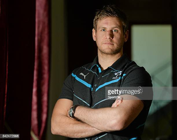 31 January 2014 Ireland's Chris Henry after the press conference ahead of their RBS Six Nations Rugby Championship match against Scotland on Sunday...