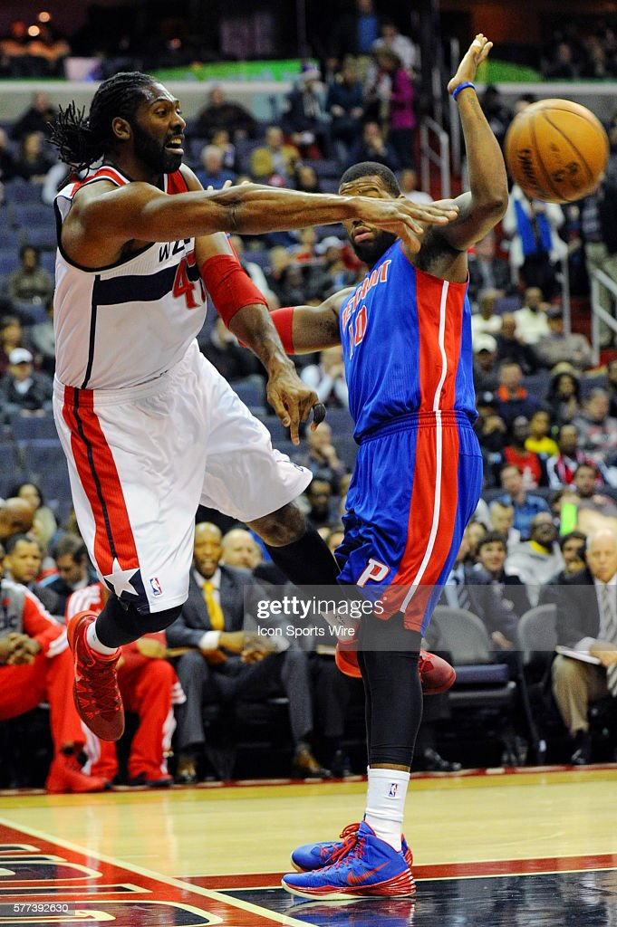 NBA: JAN 18 Pistons at Wizards : News Photo