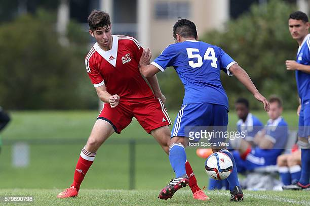 Connor Hallisey and Braian Matias Acuna . The 2015 MLS Player Combine was held on the cricket oval at Central Broward Regional Park in Lauderhill,...