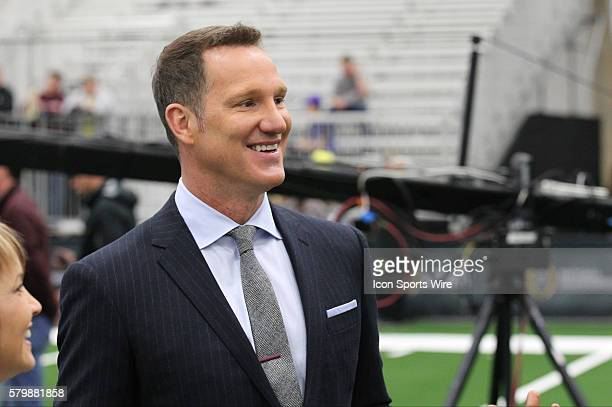 ESPN analyst Danny Kannell during the College Football Playoff National Championship media day held at the Dallas Convention Center in Dallas Texas