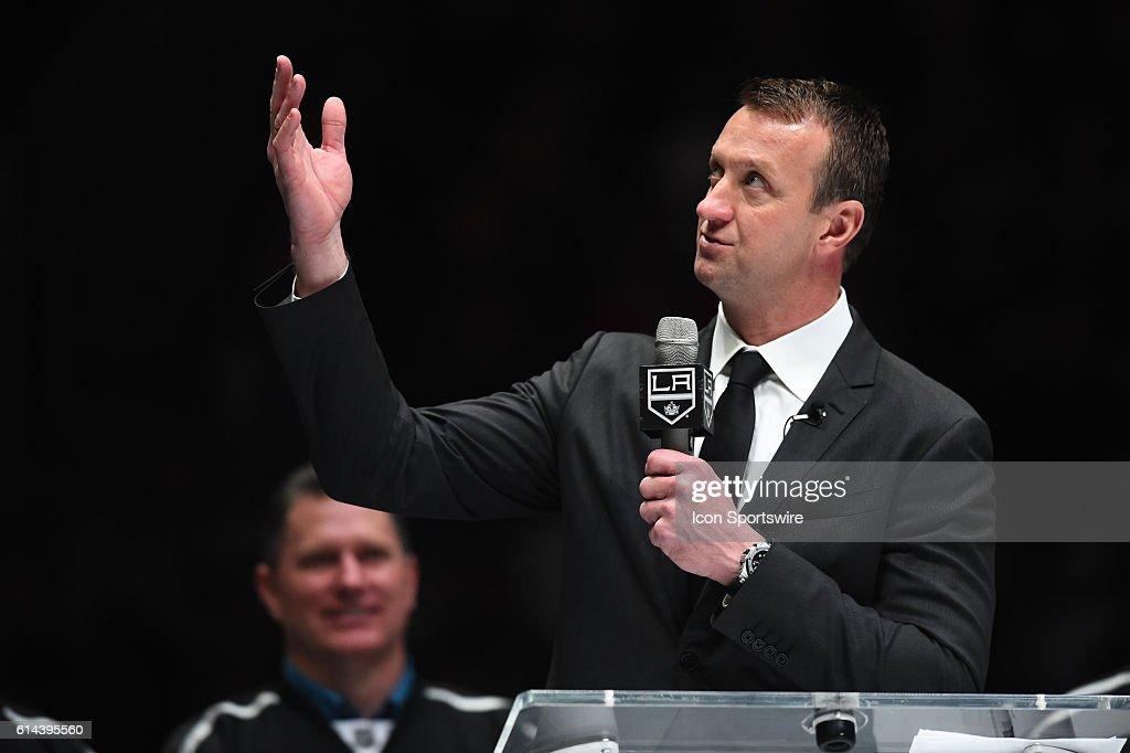 NHL: JAN 17 Ducks at Kings : News Photo