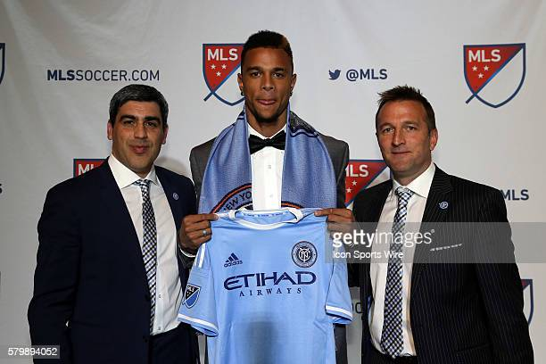 Khiry Shelton was selected second overall by New York City FC With technical director Claudio Reyna and head coach Jason Kreis The 2015 MLS...