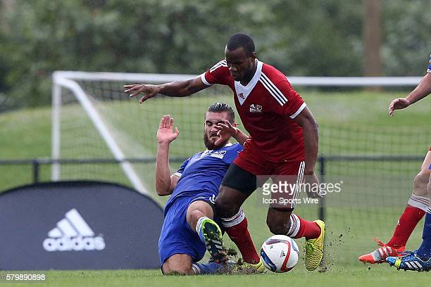 Romario Williams and Ramon Martin Del Campo . The 2015 MLS Player Combine was held on the cricket oval at Central Broward Regional Park in...