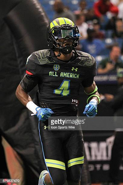 Team Armour defensive back Micah Abernathy during the 2015 Under Armour AllAmerica Game at Tropicana Field in St Petersburg Florida