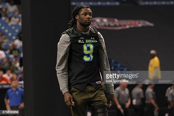 Team Armour defensive end Josh Sweat during the 2015 Under Armour AllAmerica Game at Tropicana Field in St Petersburg Florida