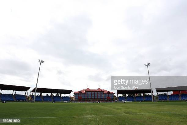 The 2015 MLS Player Combine was held on the cricket oval at Central Broward Regional Park in Lauderhill, Florida.