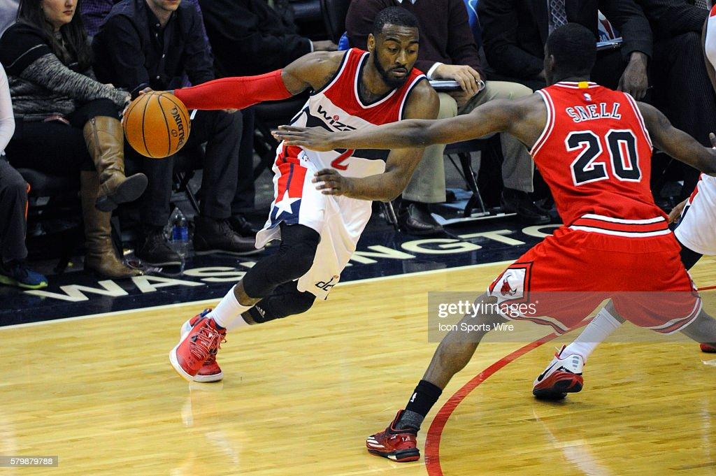 NBA: JAN 09 Bulls at Wizards : News Photo
