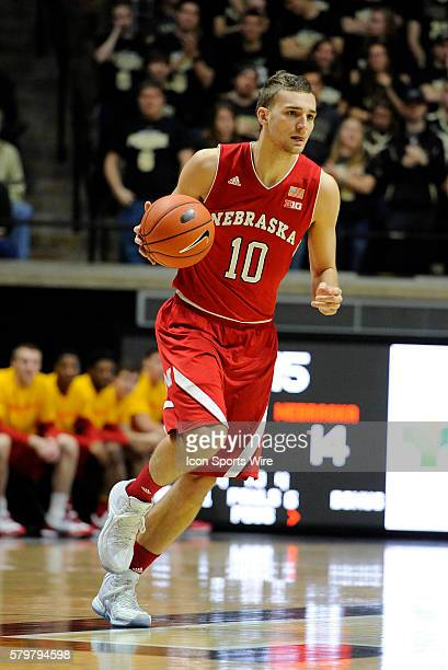 30 January 2016 | Nebraska forward Jack McVeigh dribbles up the court during a Big Ten regular season conference game between the Cornhuskers and the...