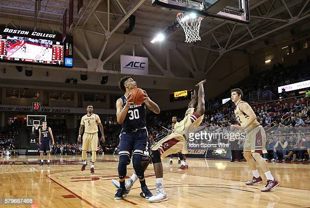Notre Dame forward Zach Auguste gets called for charging on Boston College forward Idy Diallo The Notre Dame Fighting Irish defeated the Boston...