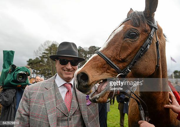 24 January 2016 Owner Rich Ricci after sending out Faugheen to win the BHP Insurances Irish Champion Hurdle Leopardstown Racecourse Leopardstown Co...