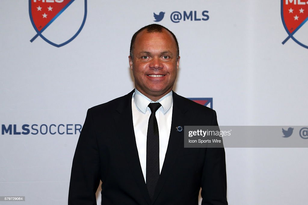 Philadelphia Union technical director Earnie Stewart. The 2016 MLS SuperDraft was held at The Baltimore Convention Center in Baltimore, Maryland as part of the annual NSCAA Convention.