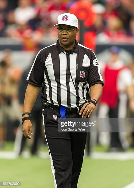 Referee Ron Torbert during the NFL Wild Card game between the Kansas City Chiefs and Houston Texans at NRG Stadium in Houston TX
