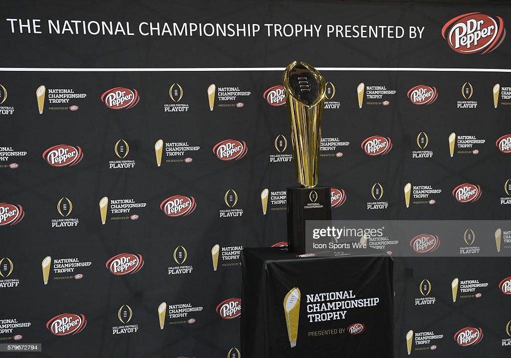 NCAA FOOTBALL: JAN 09 College Football Playoff National Championship - Media Day - Clemson : News Photo