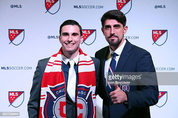 Guillermo Delgado was taken with the overall pick by the Chicago Fire With head coach Veljko Paunovic The 2017 MLS SuperDraft was held at The Los...