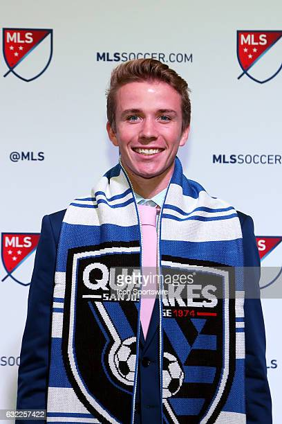 Jackson Yueill was taken overall pick by the San Jose Earthquakes The 2017 MLS SuperDraft was held at The Los Angeles Convention Center in Los...
