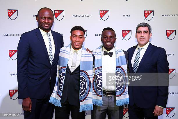 Jonathan Lewis was taken overall and Kwame Awuah overall were both selected by New York City FC With head coach Patrick Vieira and technical director...