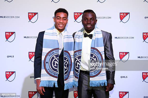 Jonathan Lewis was taken overall and Kwame Awuah overall were both selected by New York City FC The 2017 MLS SuperDraft was held at The Los Angeles...