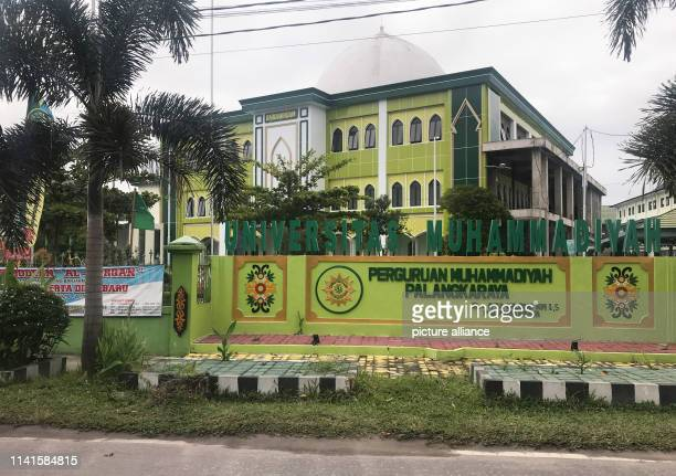 A building of the Universitas Palangka Raya the renowned state university Indonesia is currently planning to relocate its capital Palangkayara is...