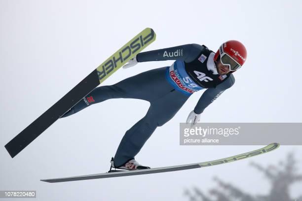 Nordic skiing / ski jumping World Cup Four Hills Tournament Großschanze Men Qualification Markus Eisenbichler from Germany in action Photo Daniel...