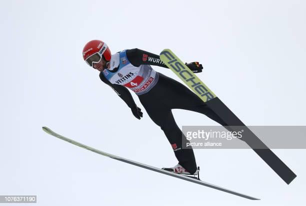 01 January 2019 Bavaria GarmischPartenkirchen Ski jumping Four Hills Tournament Big Hills Men Training Markus Eisenbichler ski jumper from Germany...