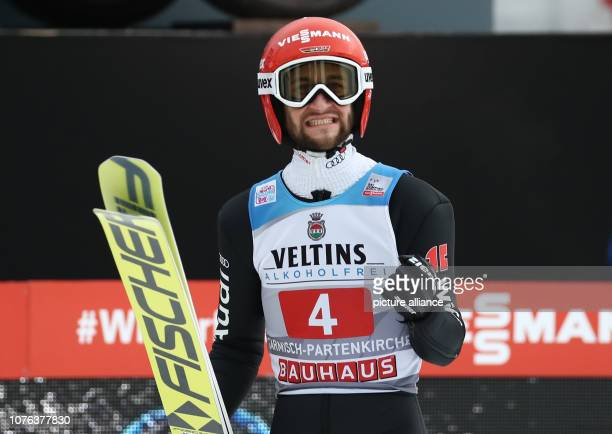 01 January 2019 Bavaria GarmischPartenkirchen Ski jumping Four Hills Tournament Big Hills Gentlemen Markus Eisenbichler ski jumper from Germany...