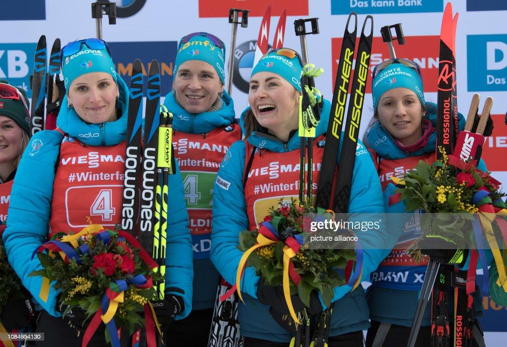Biathlon World Cup Ruhpolding - Relay Women : Photo d'actualité